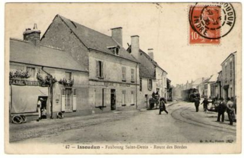 "Le petit ""tacot"" Berrichon 939768IssoudinfbgStDenisrtedesBordesADI"