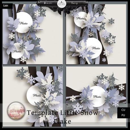 Ouverture de la boutique Bazarascrap + Freebie de S.Designs 939859templateslittlesnowflakeexclu