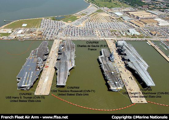 Porte avions r91 charles de gaulle page 9 - Liste des porte avions americains ...