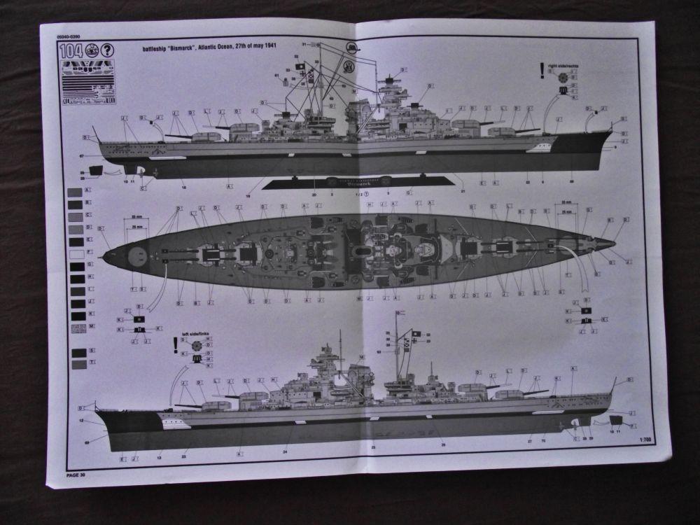 Bismarck Revell au 1/350ème  940958DSCF1016