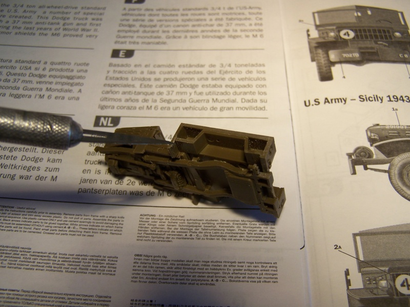 Dodge M6 anti tank Tunisie 1943 (montage terminé) 9411881005322