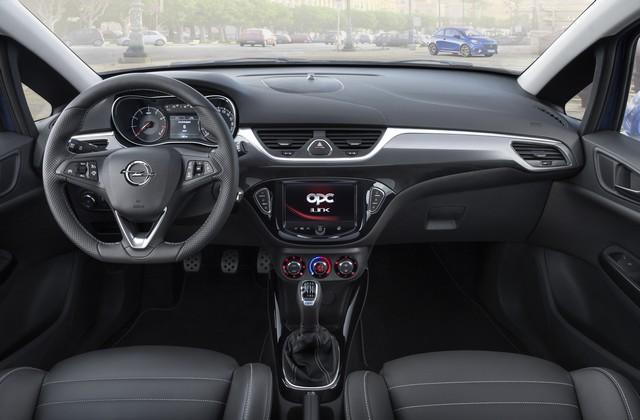 Nouvelle Opel Corsa OPC : gros muscles à prix raisonnable 941696OpelCorsaOPCInterior292973