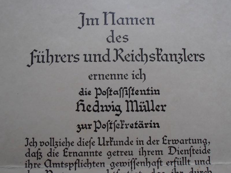Quelques documents Allemands 941815P6210016