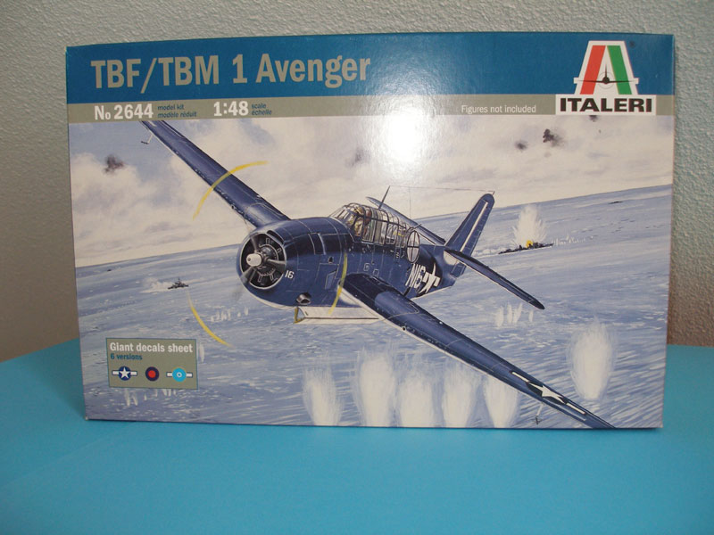 [chris008] TBF/TBM 1 AVENGER 1/48 ITALERI montage terminé 9435904503