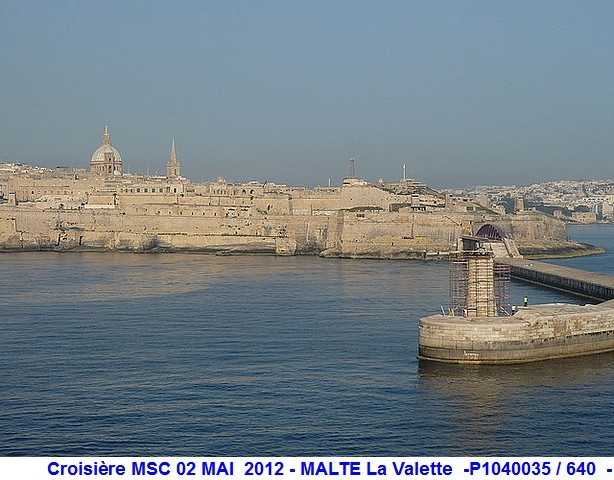 MSC Splendida Du 28 avril au 5 mai 2012 Gêne Barcelone Tunis La valette Taormine Messine Rome 943594P1040035