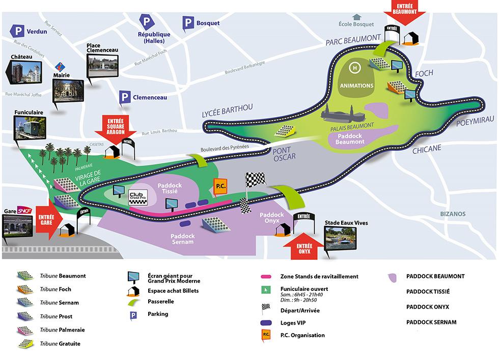 Circuit Grand Prix de Pau 943735plan2015