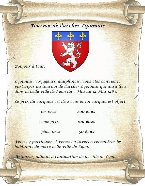 Annonces du Conseil Ducal - Page 7 945051parchemintirlarcpourLyon