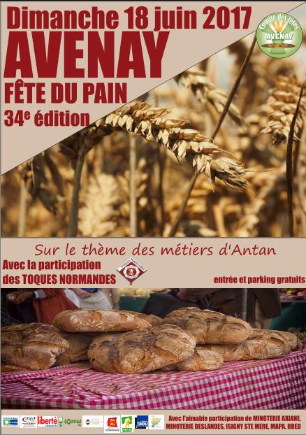 18 Juin 2017 : 34ème Fête Du Pain D'Avenay 14210 94559216832154