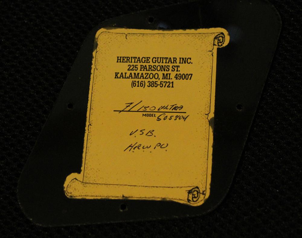 "The Heritage H-150 ""ultra"" Anniversary 2002 945691266p"
