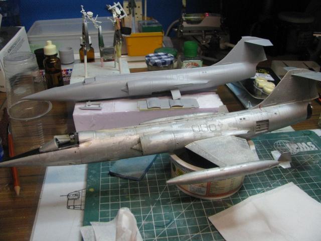 DUO: F-104N (NASA) + F-104G (BAF) Hazegawa 1/48  945815IMG5432