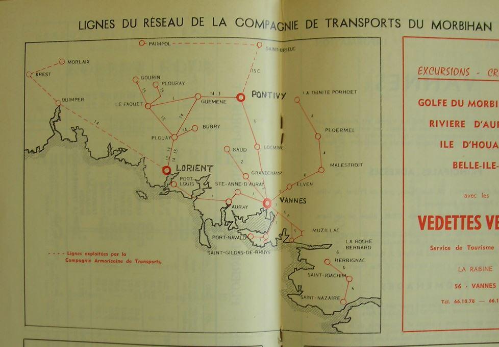 CTM - Compagnie de Transports du Morbihan - Page 6 946410lignesCTM1971