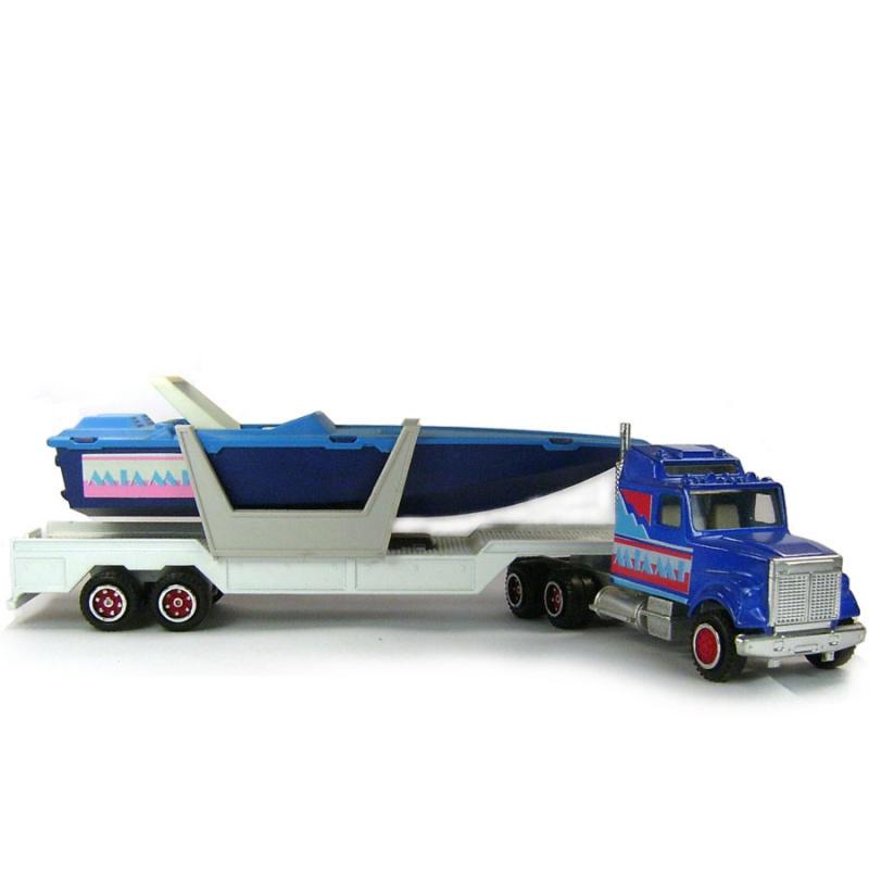 N°613 White + Semi Transport Hors Bord   946448677