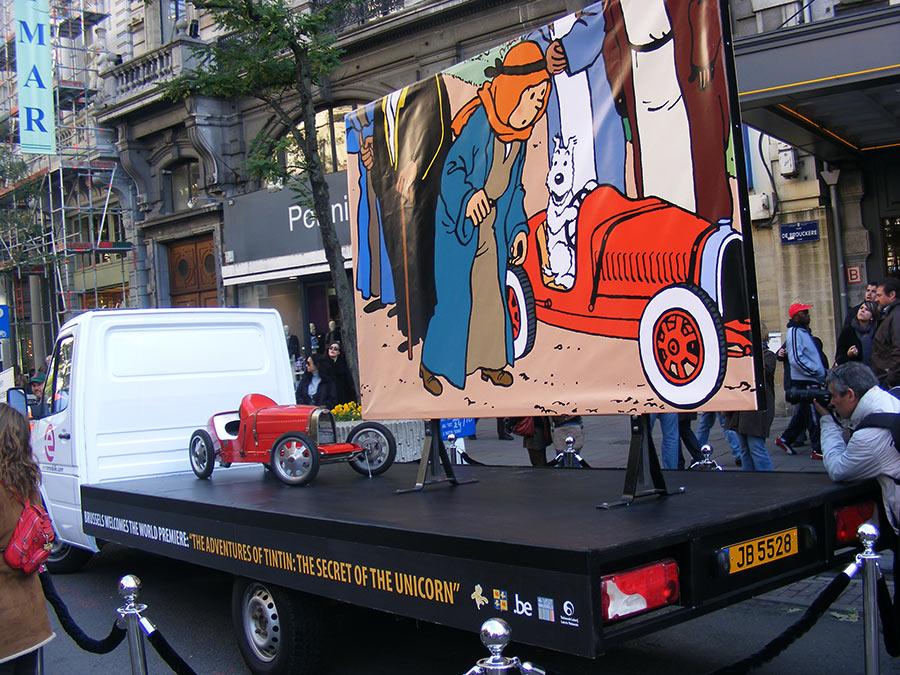 """Bruxelles côté BD  """"Tintin en automobile"""" - Page 2 947171DSCF6258"""
