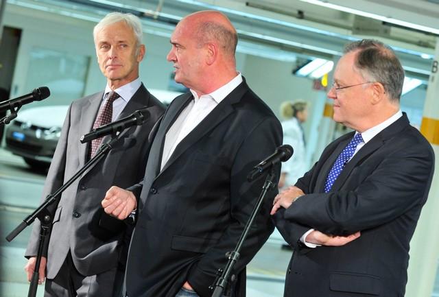 Visite de Stephan Weil, Premier Ministre, à l'usine Volkswagen de Wolfsburg  947504thddb2015al03824large