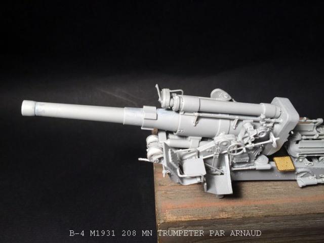 un B-4 M1931 203 mn (le marteau de Staline trumpeter 1/35 948076B4003