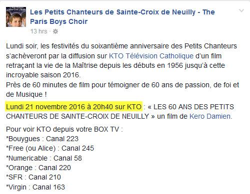 Les Petits Chanteurs de Sainte-Croix de Neuilly - Page 2 948925NeuillyKTO