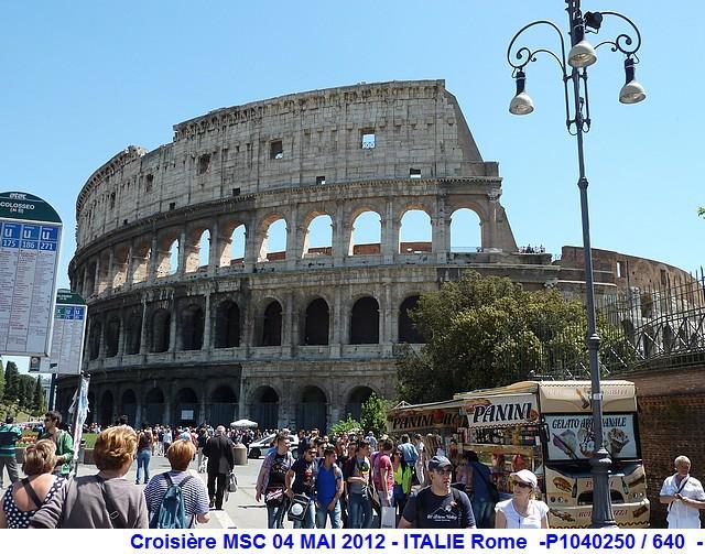 MSC Splendida Du 28 avril au 5 mai 2012 Gêne Barcelone Tunis La valette Taormine Messine Rome 950027P1040250