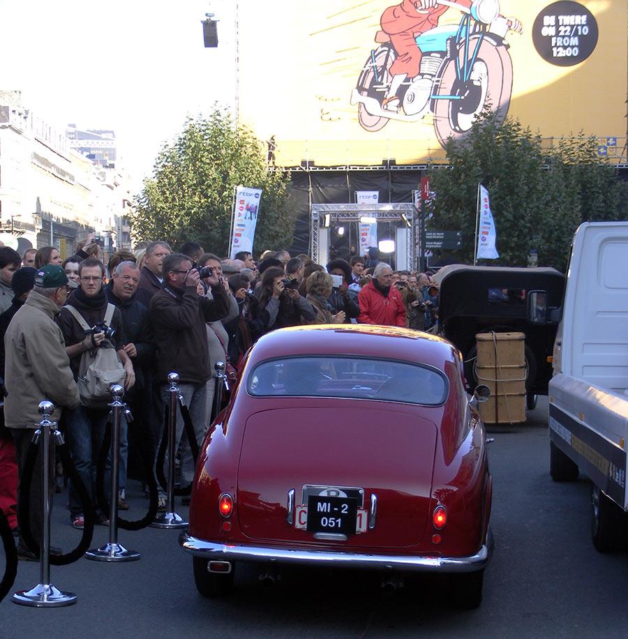"""Bruxelles côté BD  """"Tintin en automobile"""" 950693DSCF6156"""
