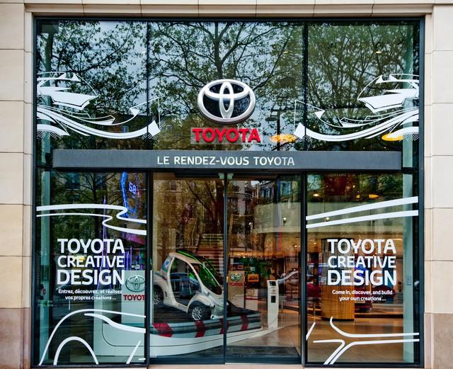 """Le """"Creative Design"""" À L'honneur Au Rendez-Vous Toyota 950978OSO8963"""