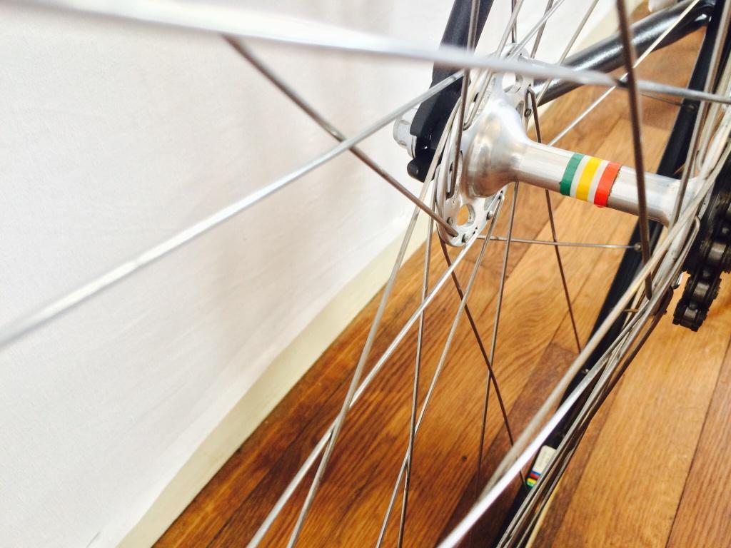 Vélo de piste Jean Marie Brun Tubes Columbus 952228image
