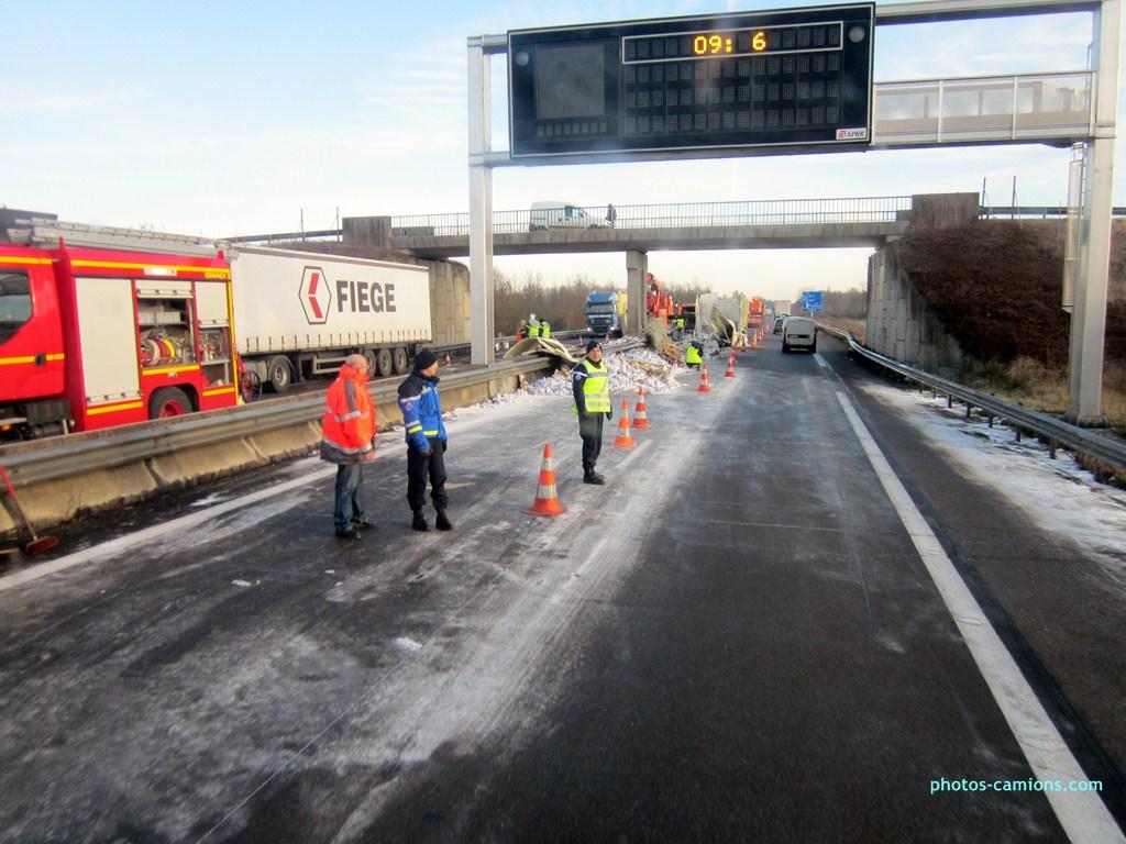 Accident sur l'A31 vers Dijon 952269photoscamions25I201380Copier