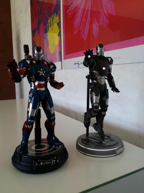 """red360 collec"""": War Machine MKII Diecast Hot Toys 952997201407161627121"""