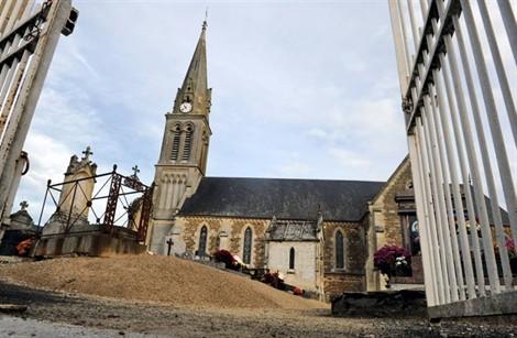 Les cloches continueront à sonner chaque demi-heure, à Banneville-sur-Ajon 95313711111719095273176000apx470