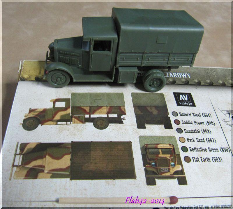 Camion Fiat 621 dans l'armée Polonaise - First to flight - 1/72ème 953646387