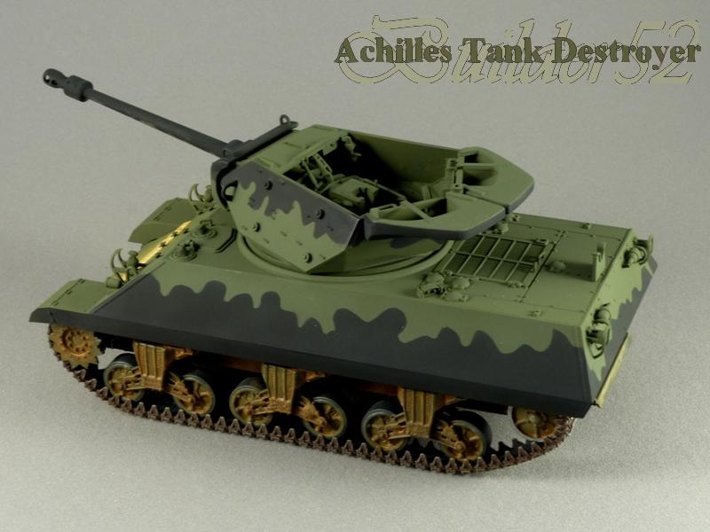 Achilles Tank Destroyer - Academy-Italeri + RB Model + set Blast 1/35 953786P1030815