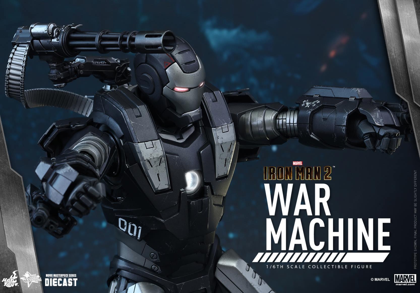 HOT TOYS - Iron Man 2 - War Machine Diecast 954239111
