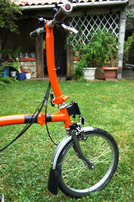 VENDS Brompton S6LX titane orange plus options 1280 EUROS [vendu] 954438brompton009