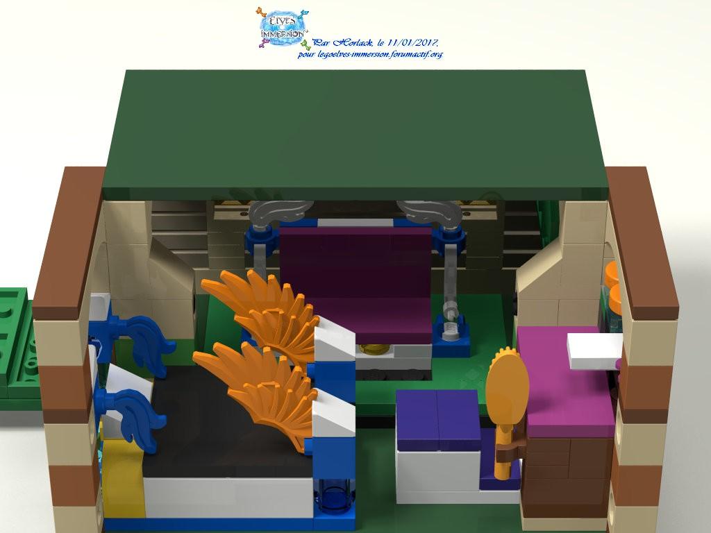 [MOC] Boîte de présentation Moi et mon dragon, en mini-maison de campagne 954895boite05maison01Construit5