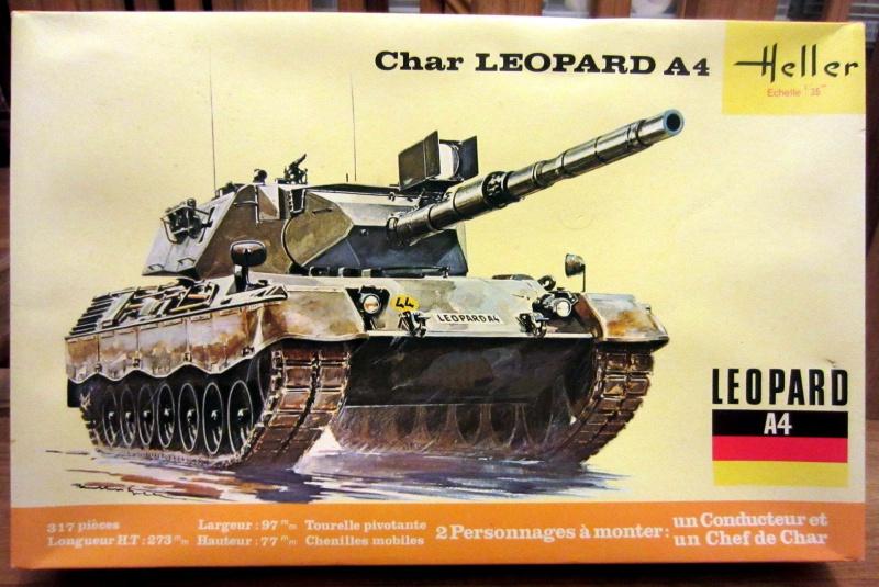 Char LEOPARD A4 - (Réf. 823) 1/35 955787HellerLopardA4823000