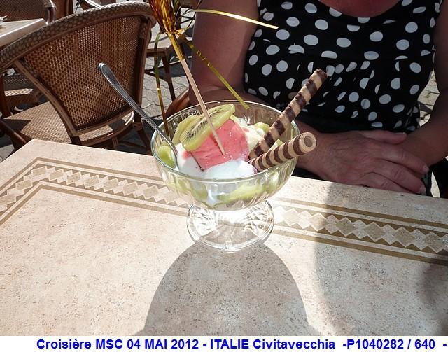 MSC Splendida Du 28 avril au 5 mai 2012 Gêne Barcelone Tunis La valette Taormine Messine Rome 956504P1040282