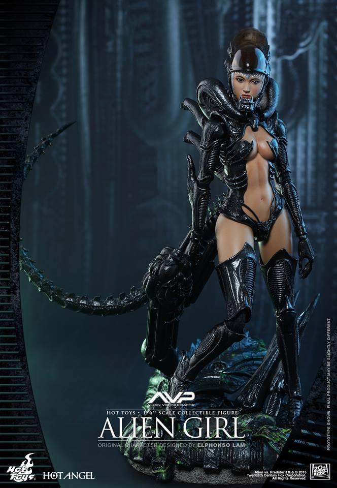 HOT TOYS - AVP - Alien Girl 957648105