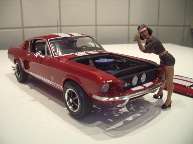 mustang shelby 350 GT 1967  au 1/25 de chez AMT/ERTL  958172IMGP1059