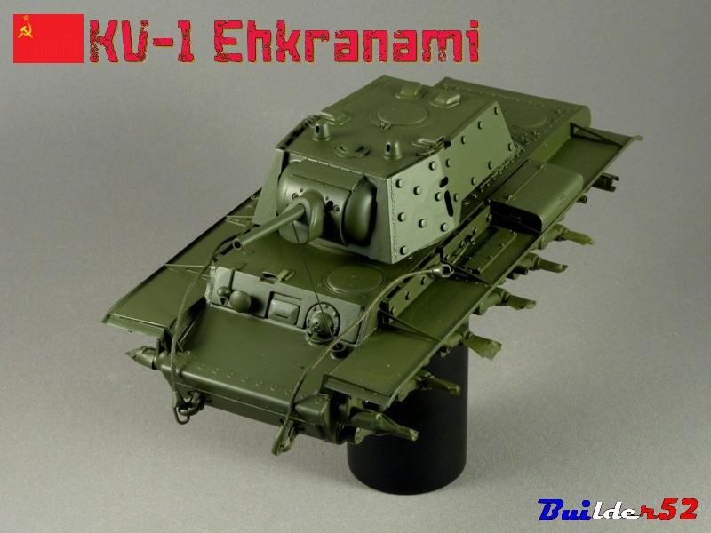 KV-1 Ehkranami  -  TRUMPETER 1/35 - Page 3 958245P1030169