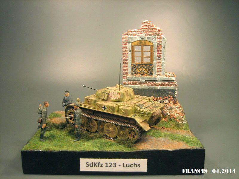 """Sdkfz 123  """" Luchs """"  ICM  1/35 958433Dio2901Luchs"""