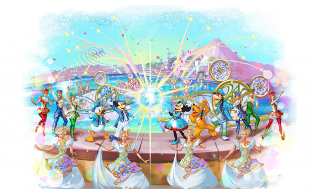 "[Tokyo DisneySea] 15th anniversary ""The Year of Wishes"" (du 15 avril 2016 au 17 mars 2017) 959042W35"