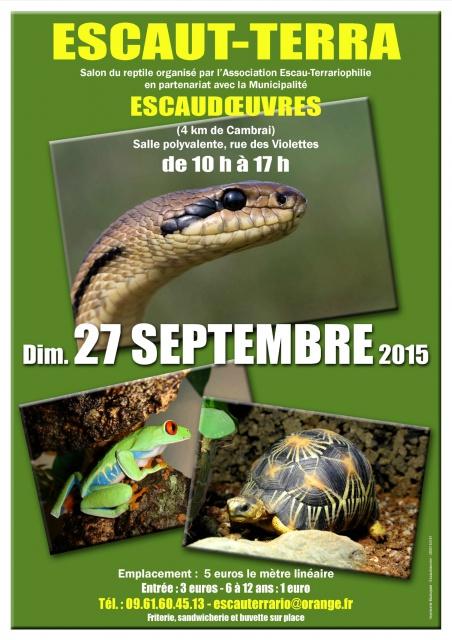 ESCAUT-TERRA Salon du reptile 27 septembre 2015 960008escaut
