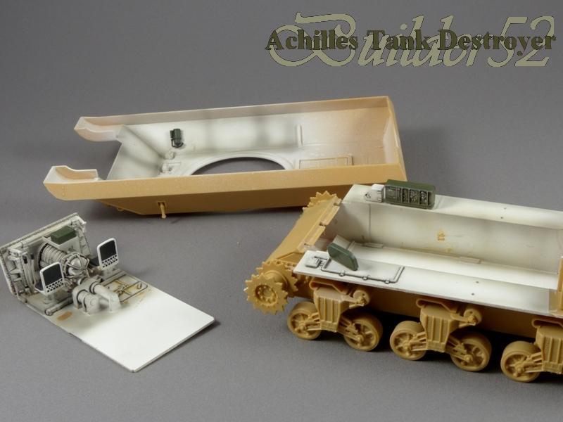 Achilles Tank Destroyer - Academy-Italeri + RB Model + set Blast 1/35 960756P1030798