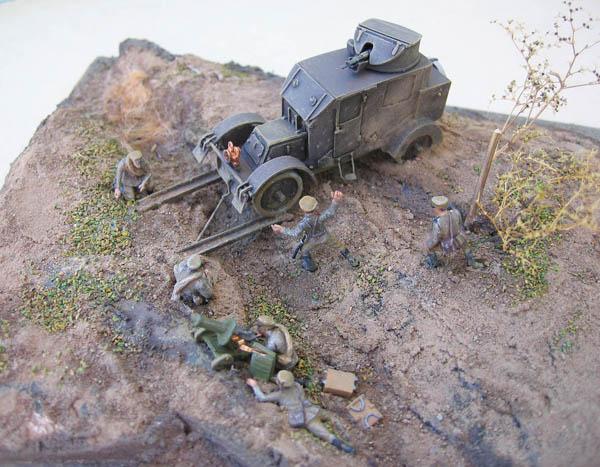[Retrokit] - Automitrailleuse Charron chez les russes en 1914. 960799Charron33