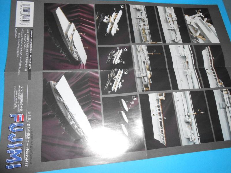 Kaga/Tenryu 1932 1/700 PE/Ponts en bois+Babioles 961014DSCN6945