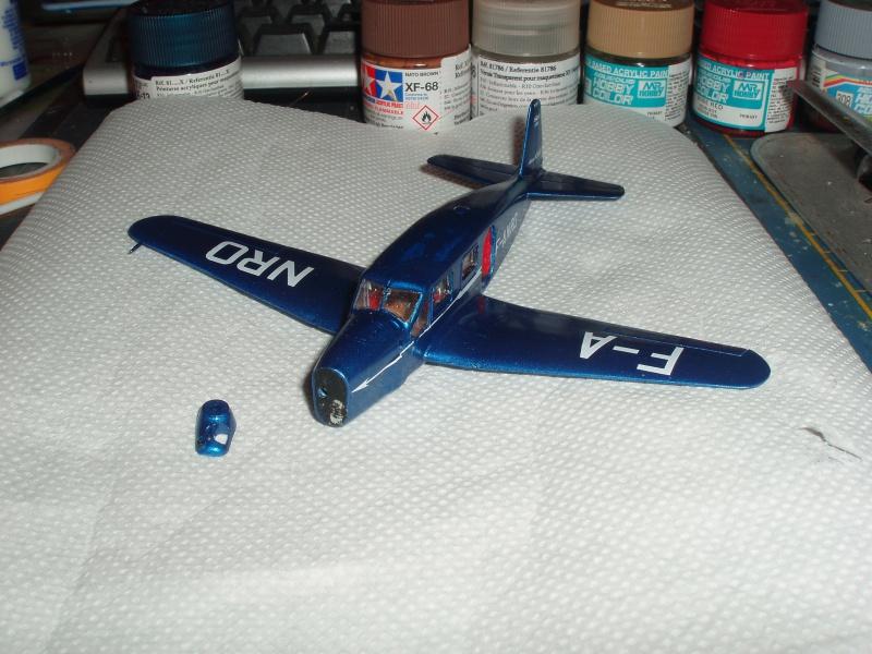 Heller avion Caudron Simoun (version Air Bleu). 962307cs17