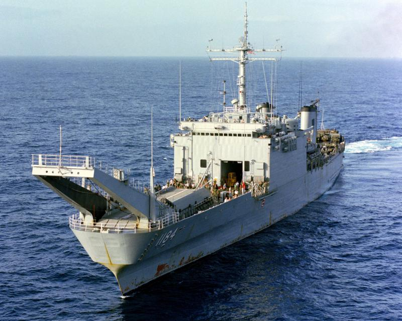 LANDING SHIP TANK (LST) CLASSE NEWPORT  963181USSFredericklamer