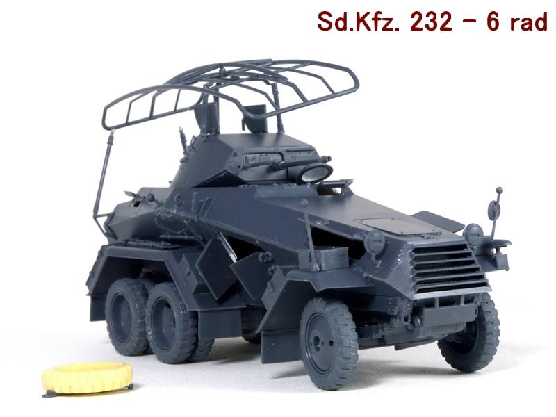Sd.Kfz. 232 6 Rad - France 1940 - Italeri 1/35 963212P1030977