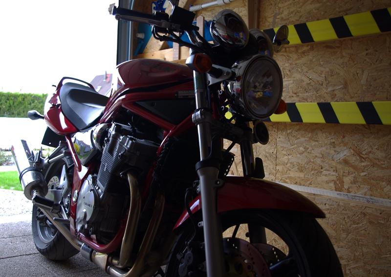 Suzuki Bandit 600N, il était temps bis... 969516IMGP2408