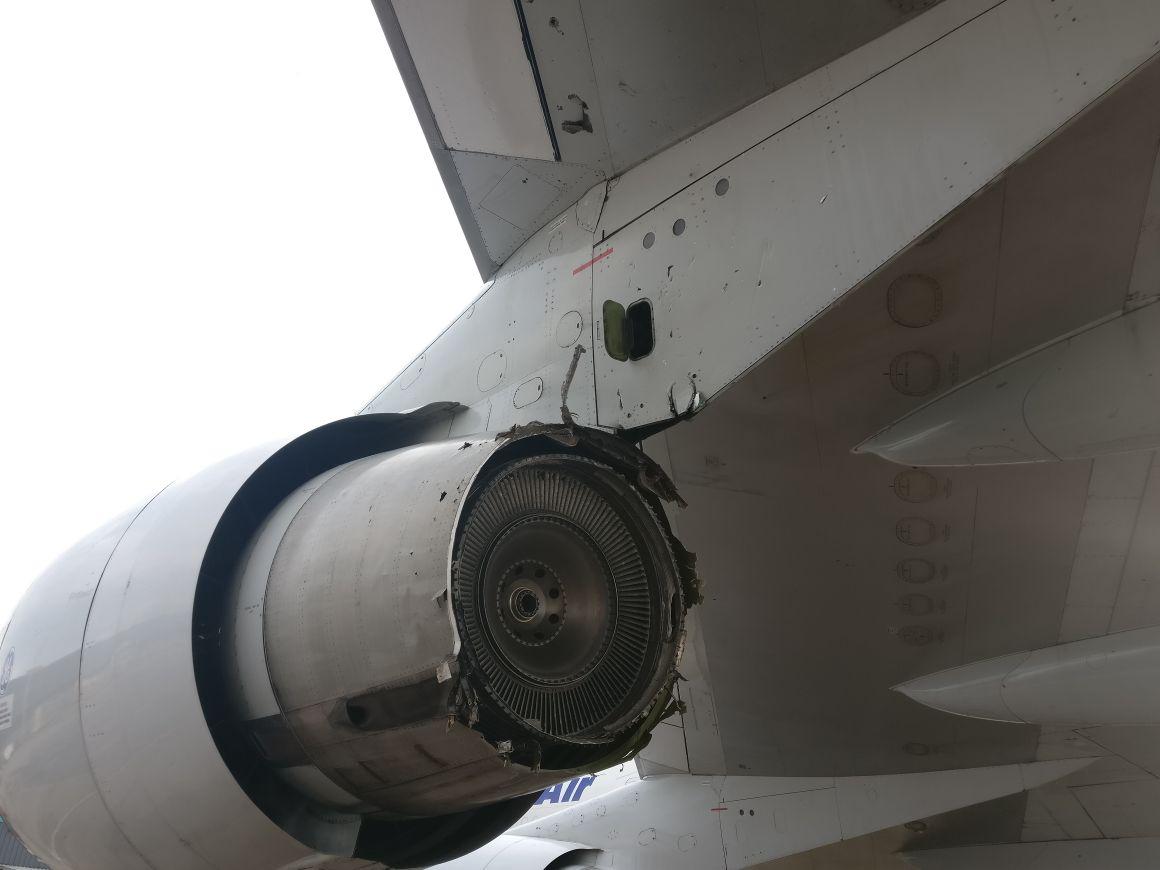 ruptures non contenues disque turbine CF6-50  969796cf6lpt