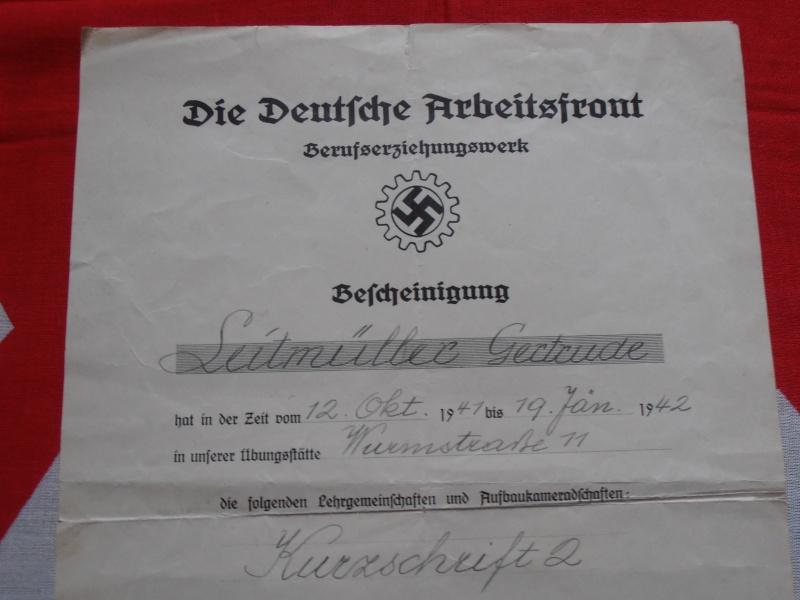 Quelques documents Allemands 969934P6210004