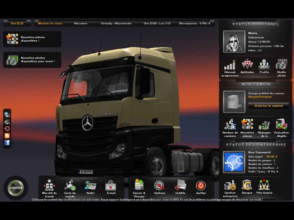 ETS2 - On the road 4 et extension Russie 970491ets200021